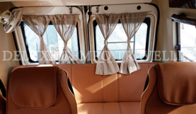 12 seating with sofa cum bed tempo traveller
