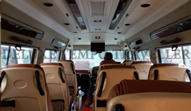16 seater deluxe pkn modified tempo traveller