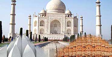 delhi agra jaipur golden triangle tour package by tempo traveller